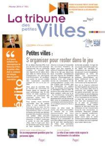 La Tribune des petites villes - Février 2016