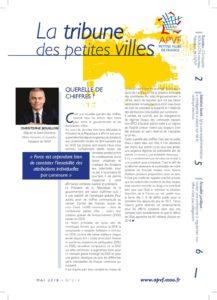 La Tribune des petites villes - Mai 2018 - août 14
