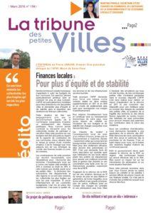 La Tribune des petites villes - Mars 2016
