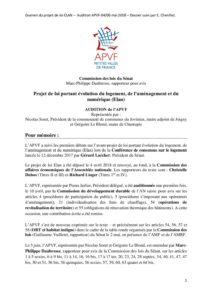 PJL Elan, note de positionnement APVF, juin 2018 - août 01