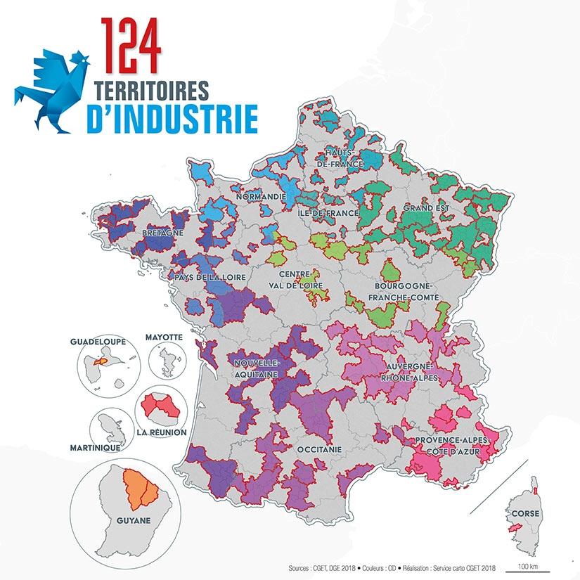 Attractivité des territoires : Le Gouvernement lance un plan de réindustrialisation limité aux villes moyennes