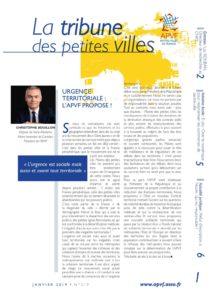 La Tribune des petites villes - Décembre / Janvier 2019