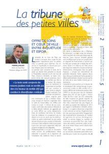 La Tribune des petites villes de France - Mars 2019