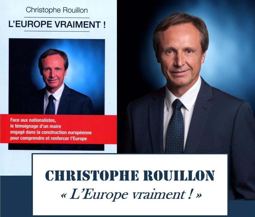 Europe : Christophe Rouillon présente son livre « l'Europe vraiment »