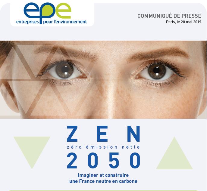 Transition écologique : Présentation de l'étude 0 émission nette en 2050