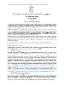 Position APVF Transition écologique - juin 12