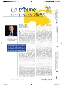 La Tribune des petites villes de France - Juin 2019 - juin 17