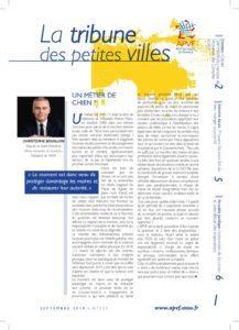 La Tribune des petites villes de France - Septembre 2019 - juin 20