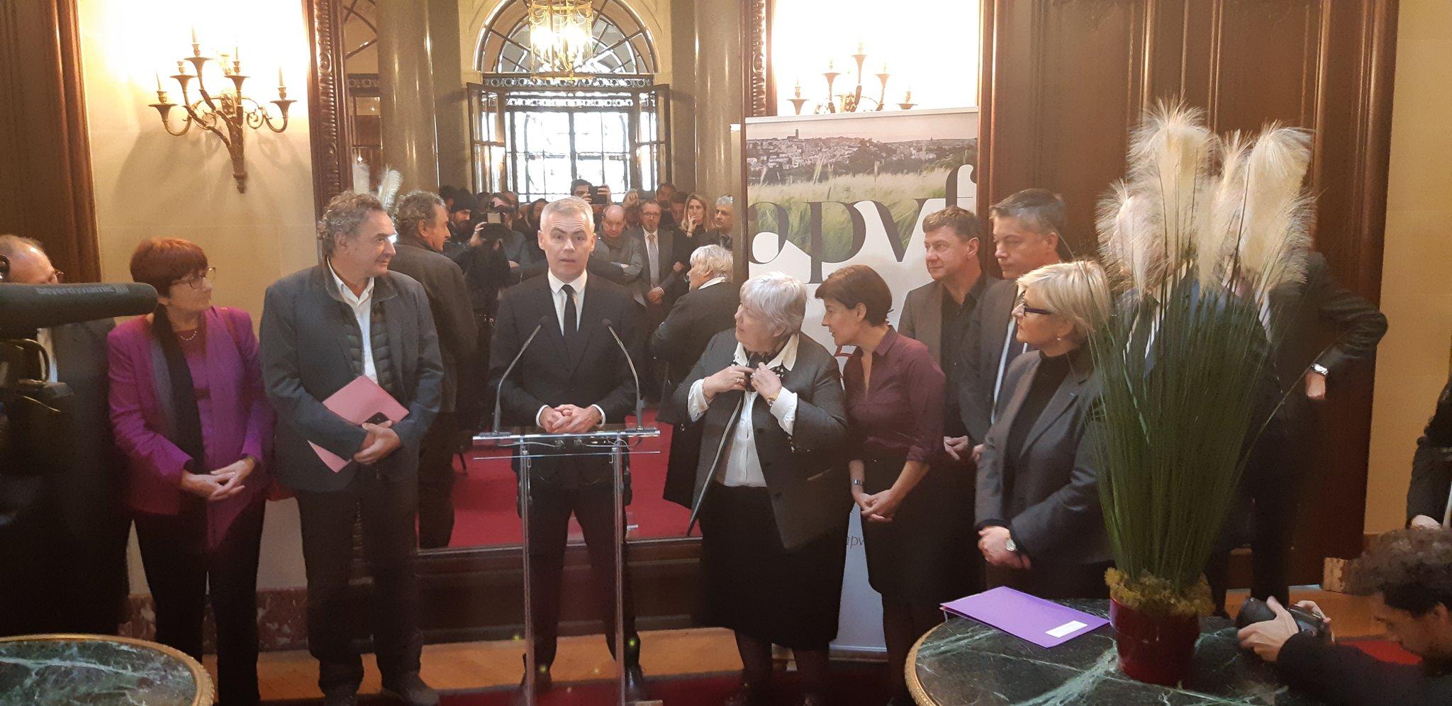 L'APVF présente ses vœux à ses partenaires en présence de Jacqueline Gourault et d'Olivier Dussopt