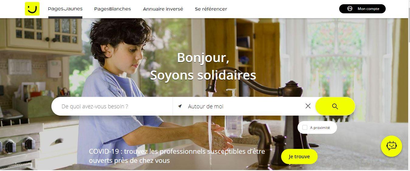 PagesJaunes.fr recense les commerces ouverts durant le confinement