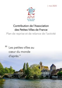 Contribution de l'APVF au plan de relance