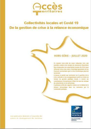 Un numéro hors-série de la collection « Accès Territoires » de La Banque postale consacré à la gestion de crise et la relance dans les collectivités locales