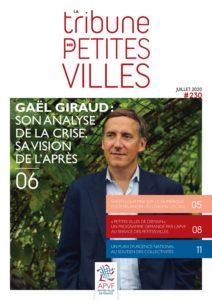 La Tribune des petites villes de France - Juin 2020