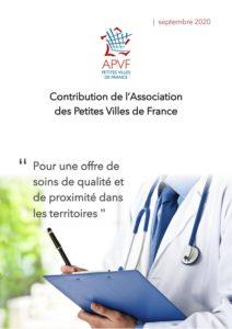 """Contribution """"Pour une offre de soins de qualité et de proximité dans les territoires"""""""