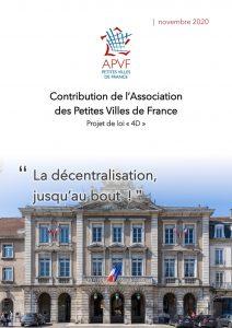 """Contribution """"La décentralisation jusqu'au bout !"""""""