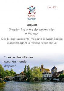 Enquête sur la situation financière des petites villes - Avril 2021