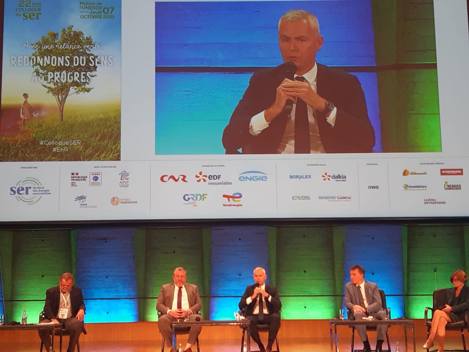 Congrès annuel du SER: Christophe Bouillon rappelle que la transition écologique se joue dans les petites villes